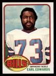 1976 Topps #213  Earl Edwards  Front Thumbnail