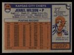 1976 Topps #248  Jerrel Wilson  Back Thumbnail