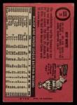 1969 O-Pee-Chee #25  Roy White  Back Thumbnail