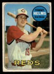 1969 O-Pee-Chee #70  Tommy Helms  Front Thumbnail