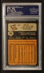 1973 Topps #580  Joe Pepitone  Back Thumbnail
