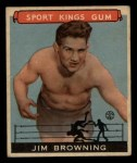 1933 Goudey Sport Kings #41  Jim Browning   Front Thumbnail