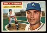 1956 Topps #82  Bill Renna  Front Thumbnail