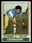 1974 Topps #307  Pettis Norman  Front Thumbnail