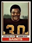 1974 Topps #392  Jess Phillips  Front Thumbnail
