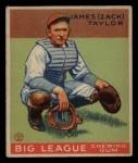 1933 Goudey #152  Zack Taylor  Front Thumbnail