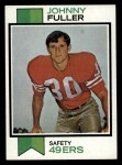 1973 Topps #207  Johnny Fuller  Front Thumbnail