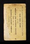 1921 E220 National Caramel  Dave Bancroft  Back Thumbnail