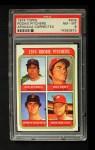 1974 Topps #608 COR  -  Bob Apodaca / Dick Baney / John D'Acquisto / Mike Wallace Rookie Pitchers   Front Thumbnail