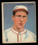 1933 Goudey #209  Dolf Luque  Front Thumbnail