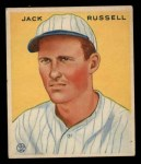 1933 Goudey #123  Jack Russell  Front Thumbnail