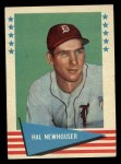 1961 Fleer #66  Hal Newhouser  Front Thumbnail
