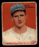 1933 Goudey #167  Jack Russell  Front Thumbnail