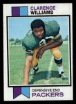 1973 Topps #109  Clarence Williams  Front Thumbnail