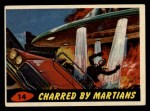 1962 Topps / Bubbles Inc Mars Attacks #14   Charred by Martians  Front Thumbnail