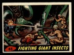 1962 Topps / Bubbles Inc Mars Attacks #45   Fighting Giant Insects  Front Thumbnail