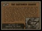 1962 Topps / Bubbles Inc Mars Attacks #49   The Earthmen Charge  Back Thumbnail