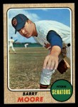 1968 Topps #462  Barry Moore  Front Thumbnail