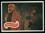 1969 Topps Planet of the Apes #23   Words Of Anger Front Thumbnail