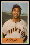 1954 Bowman #105 COR Sal Maglie  Front Thumbnail