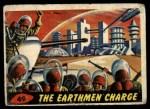1962 Topps / Bubbles Inc Mars Attacks #49   The Earthmen Charge  Front Thumbnail