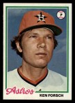 1978 Topps #181  Ken Forsch  Front Thumbnail