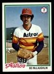 1978 Topps #437  Bo McLaughlin  Front Thumbnail