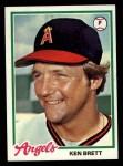 1978 Topps #682  Ken Brett  Front Thumbnail