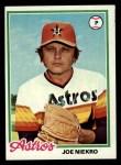 1978 Topps #306  Joe Niekro  Front Thumbnail