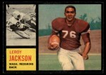 1962 Topps #174  Leroy Jackson  Front Thumbnail