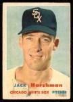 1957 Topps #152  Jack Harshman  Front Thumbnail