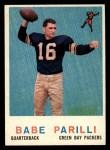 1959 Topps #107  Babe Parilli  Front Thumbnail