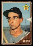 1962 Topps #261  George Alusik  Front Thumbnail