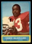 1963 Topps #152  Ernie McMillan  Front Thumbnail