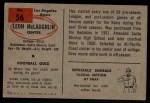 1954 Bowman #56  Leon McLaughlin  Back Thumbnail