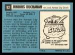 1964 Topps #92  Buck Buchanan  Back Thumbnail