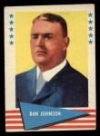 1961 Fleer #48  Ban Johnson  Front Thumbnail
