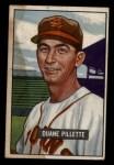 1951 Bowman #316  Duane Pillette  Front Thumbnail