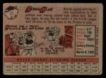 1958 Topps #82  Ron Kline  Back Thumbnail