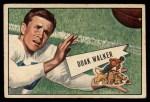 1952 Bowman Small #3  Doak Walker  Front Thumbnail