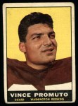 1961 Topps #128  Vince Promuto  Front Thumbnail