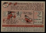 1958 Topps #199  Don Blasingame  Back Thumbnail