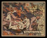 1941 Gum Inc. War Gum #4   Dying Captain Carries On Front Thumbnail