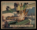 1941 Gum Inc. War Gum #89   Yank Flier's Bombs Wreck Nazi Supply Trains Front Thumbnail