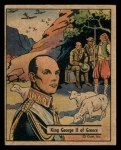 1941 Gum Inc. War Gum #108   King George II Of Greece Front Thumbnail