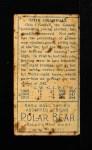 1911 T205 T Doc Crandall  Back Thumbnail