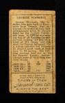 1911 T205  Hack Simmons  Back Thumbnail