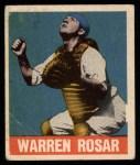 1948 Leaf #128  Warren  Buddy  Rosar  Front Thumbnail