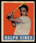 1948 Leaf #91  Ralph Kiner  Front Thumbnail