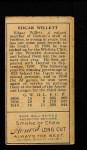 1911 T205  Ed Willett  Back Thumbnail